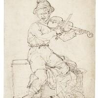 113. jean-louis-andré-théodore géricault | le violoniste aveugle