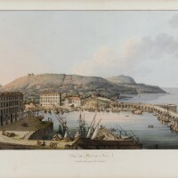 2. albanis beaumont. an historical [...] description of the county of nice, 1792. in-folio. maroquin vert moderne.