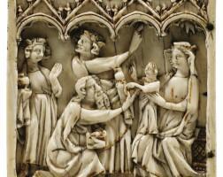 4. french, paris, last third 14th century, | adoration of the magi