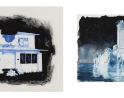 180. daniel arsham (b. 1980) | untitled [2 works], 'circa' 2004