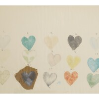 4. jim dine (b. 1935) | heart drawing i, 1970