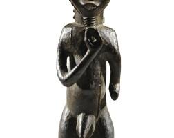 249. statue, baulé, côte d'ivoire  