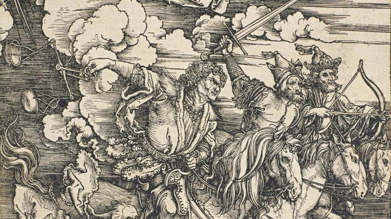 Albrecht Dürer's Striking Moment of Divine Intervention