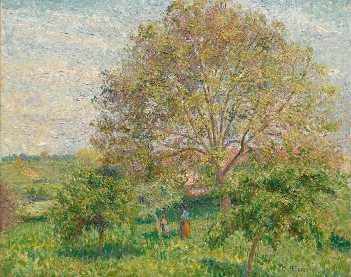 10067 Pissarro, Le Grand Noyer au printemps, Eragny.jpg