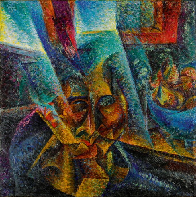 Once Again We Hurl Our Defiance At The Stars Boccioni S