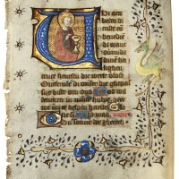 29. st john the evangelist on a leaf from a book of hours, in dutch [northern netherlands (utrecht), c.1430-50]