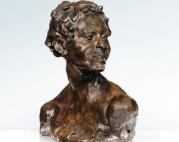 41. after alfredo pina | bust of bacchus