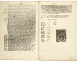 57. curtius rufus, historiae alexandri magni, venice, 1494, modern vellum