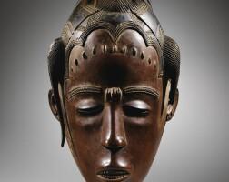 34. masque, guro, côte d'ivoire  