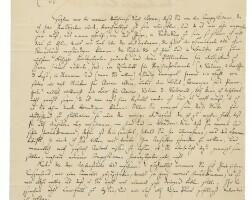 193. mendelssohn bartholdy, felix. fine autograph letter signed to the publisher fritz simrock