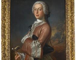 193. petrus johannes van reysschoot   portrait of sir danvers osborn (1715–1753), governor of new york