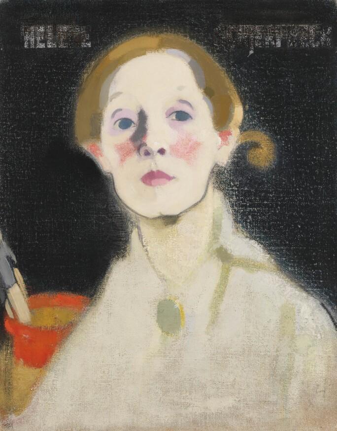 Helene Schjerfbeck, Self-Portrait