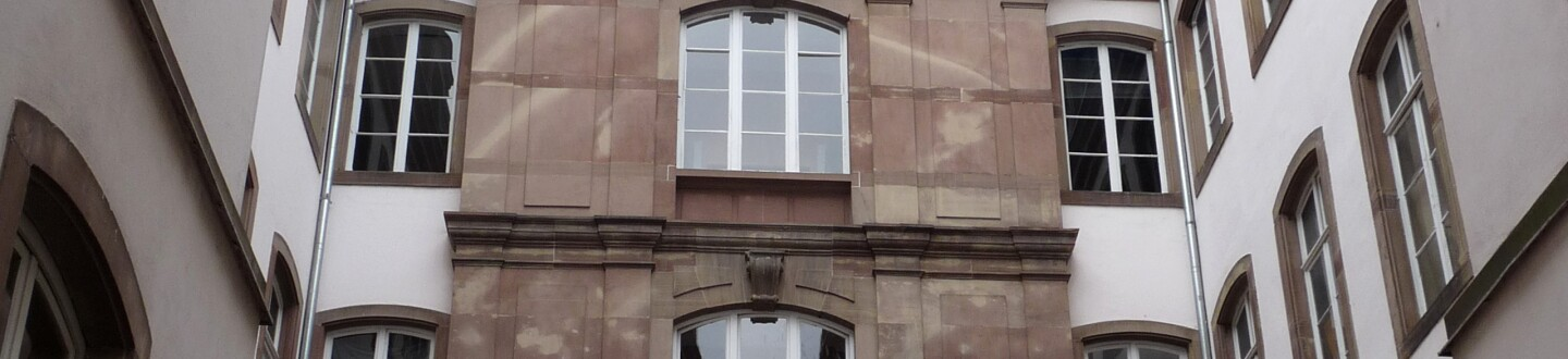 Exterior view of the Cabinet des Estampes et des Dessins in Strasbourg.