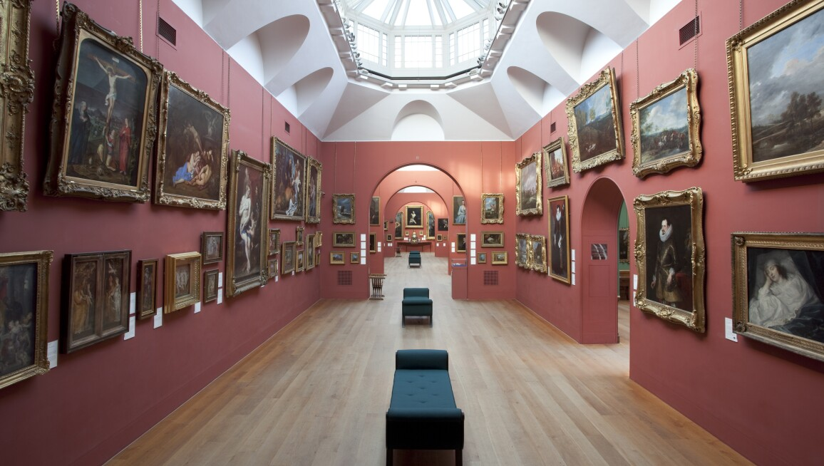 Interior View, Dulwich Picture Gallery