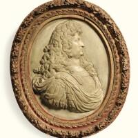1. french, 18th centuryprofile of louis xiv  
