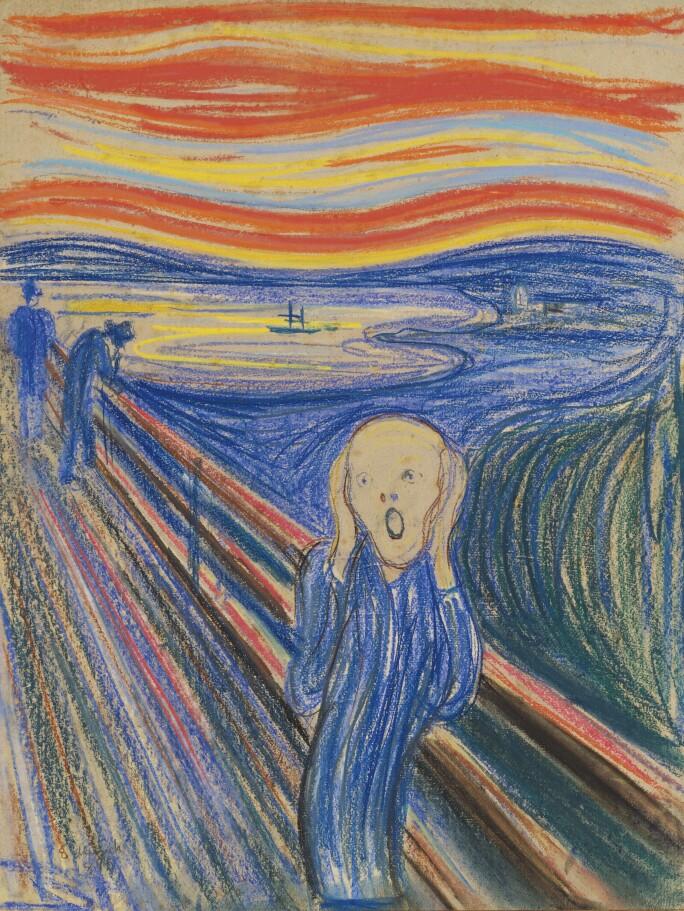 Edvard Munch, The Scream, 1895.