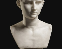 6. italian, 19th centuryafter the antique | bust of the young augustus