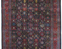 231. a bidjar carpet, northwest persia
