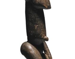 6. dogon tintam female figure, mali,ca. late 17th or early 18th century