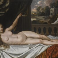 55. attributed to sir peter lely and studio | portrait of elizabeth trentham, viscountess cullen, as venus