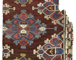 8. an anatolian carpet fragment