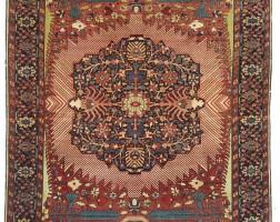 3. a sarouk feraghan rug, northwest persia