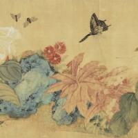 1203. 惲冰 (17世紀) | 花卉草蟲