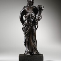 16. north italian, probably mantua,circa 1550, after the antique | allegory of the abundance