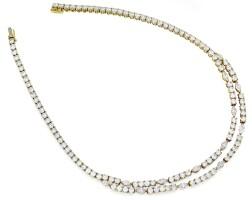 30. diamond necklace, cartier
