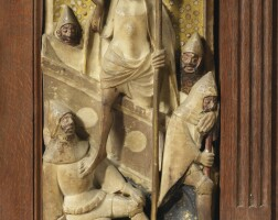 2. english, nottingham, 15th century