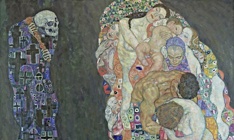 Klimt Death and Life