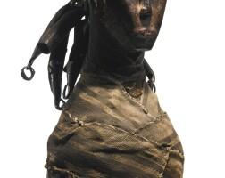 24. kissi power figure (piomdo), liberia