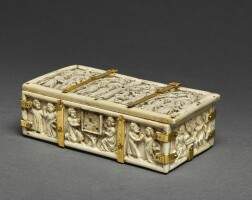12. french, probably paris, 14th or 15th century | casket