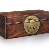 48. 十七世紀 黃花梨蓋盒 |