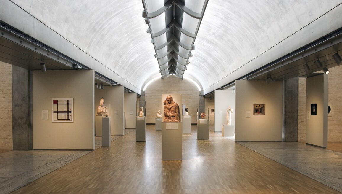 Interior View, Kimbell Art Museum