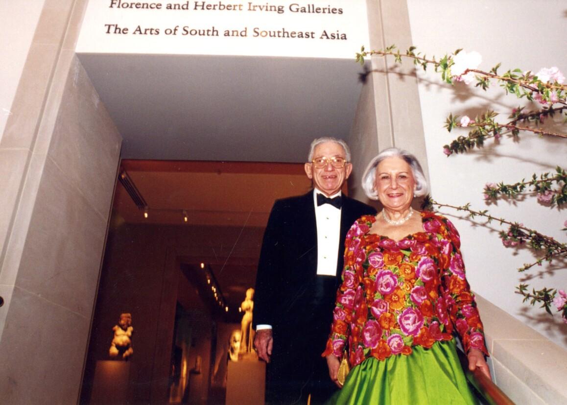 Herbert e Florence Irving