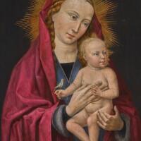 121. follower of rogier van der weyden, second quarter of the 16th century | virgin and child