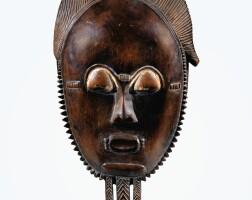 47. masque, baulé, côte d'ivoire |