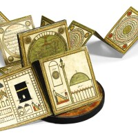 44. a traveller's talismanic compendium, signed by muhammad ibn hasan, turkey, ottoman, dated 1151 ah/1738-39 ad