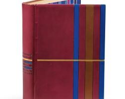 33. laboureur-maurois. le discours du dr. o'grady, 1929. in-4. rel. de rose adler. un des 20 sur japon, avec double suite.