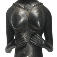 27. mende female figure, sierra leone
