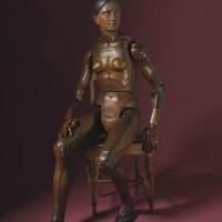 1. mannequin articulé circa 1800