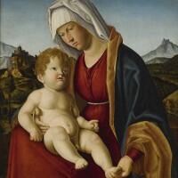 12. 喬瓦尼·巴蒂斯塔·奇馬 - 或稱奇馬·達·科內利亞諾 | 《聖母與聖嬰》