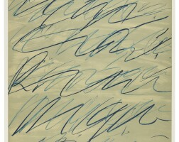345. Cy Twombly