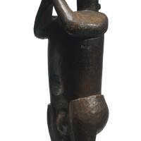 23. baga male figure, guinea