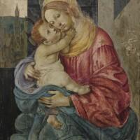 12. follower offilippino lippi | virgin and child