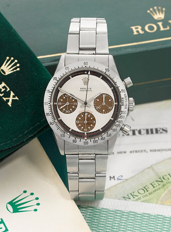A Rare Rolex Daytona Watch With A Stunning Dial Watches Sotheby S