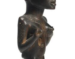 96. kongo-vili female figure, democratic republic of the congo