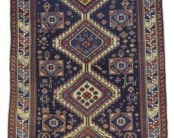10. a shirvan 'karagashli', long rug, east caucasus |