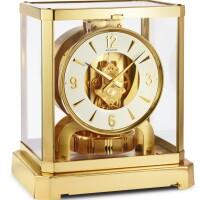 2004. lecoultre | gilt brass atmos clock serial 36834 circa 1970
